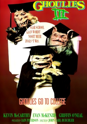 Ghoulies III: Ghoulies Go to College - DVD movie cover (thumbnail)