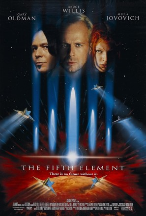 The Fifth Element - Theatrical movie poster (thumbnail)
