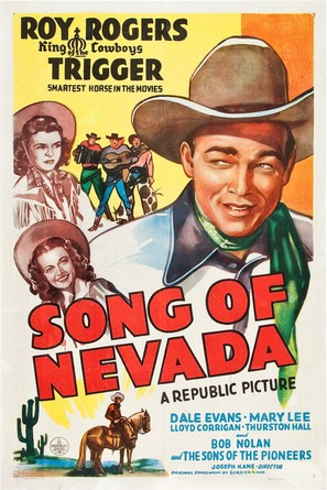 Song of Nevada - Movie Poster (thumbnail)