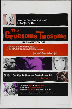 The Gruesome Twosome - Movie Poster (thumbnail)