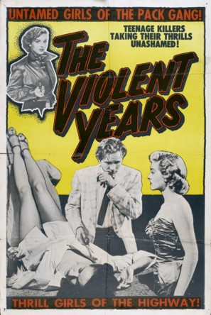 The Violent Years - Movie Poster (thumbnail)
