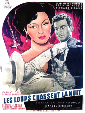 Les loups chassent la nuit - French Movie Poster (thumbnail)