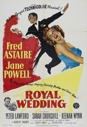 Royal Wedding - Movie Poster (thumbnail)