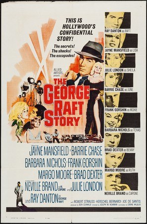 The George Raft Story - Movie Poster (thumbnail)