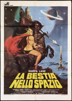 La bestia nello spazio - Italian Movie Poster (thumbnail)