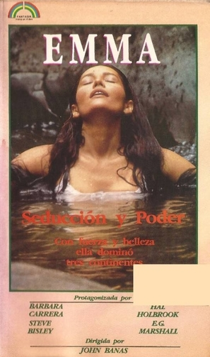 """""""Emma: Queen of the South Seas"""" - Argentinian VHS cover (thumbnail)"""