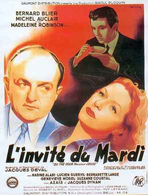 L'invité du mardi - French Movie Poster (thumbnail)
