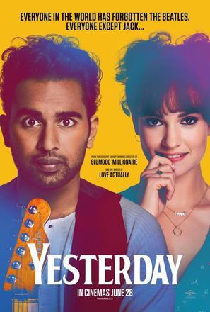 Yesterday - British Movie Poster (thumbnail)