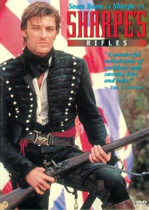 Sharpe's Rifles - DVD cover (thumbnail)