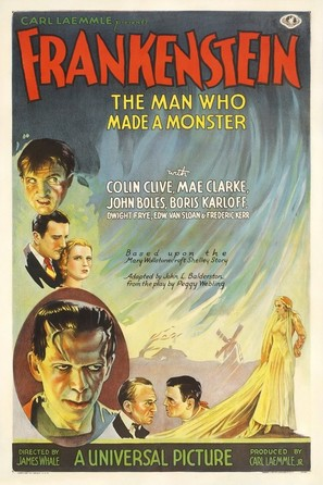 Frankenstein - Theatrical poster (thumbnail)