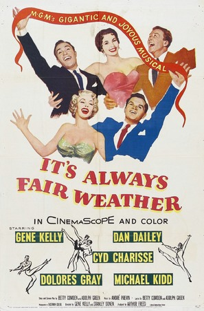 It's Always Fair Weather - Movie Poster (thumbnail)