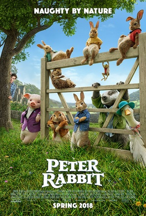 Peter Rabbit - Movie Poster (thumbnail)