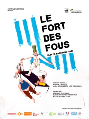 Le fort des fous - French Movie Poster (thumbnail)