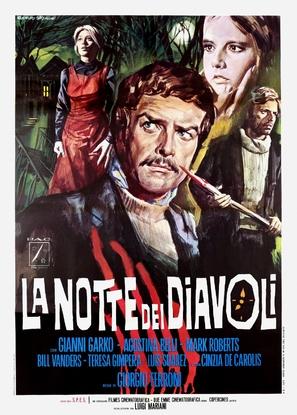 La notte dei diavoli - Italian Movie Poster (thumbnail)