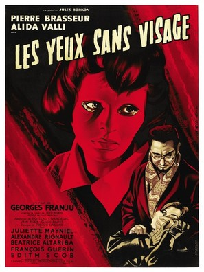 Les yeux sans visage - French Movie Poster (thumbnail)