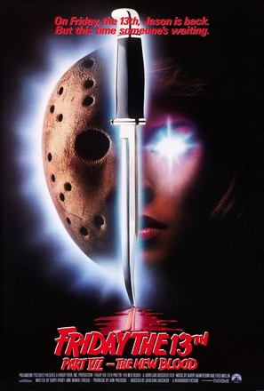 Friday the 13th Part VII: The New Blood - Movie Poster (thumbnail)
