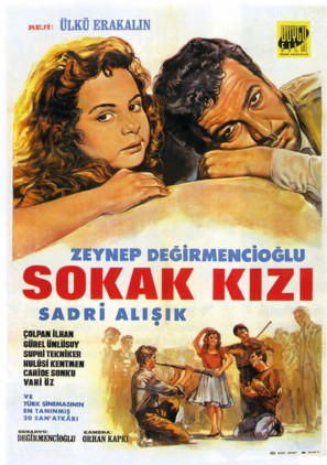 Sokak kizi - Turkish Movie Poster (thumbnail)