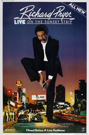 Richard Pryor Live on the Sunset Strip - Movie Poster (thumbnail)