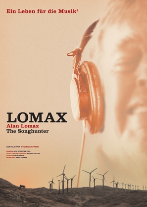 Lomax the Songhunter - German poster (thumbnail)