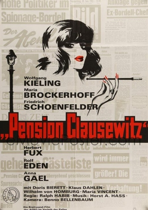 Pension Clausewitz - German Movie Poster (thumbnail)