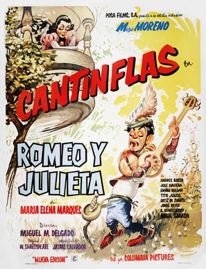 Romeo y Julieta - Mexican Movie Poster (thumbnail)