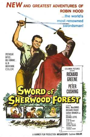 Sword of Sherwood Forest - Movie Poster (thumbnail)