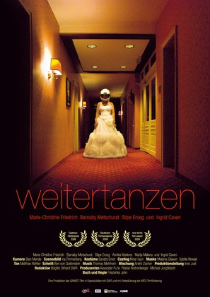 Weitertanzen - German Movie Poster (thumbnail)