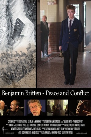 Benjamin Britten: Peace and Conflict - British Movie Poster (thumbnail)