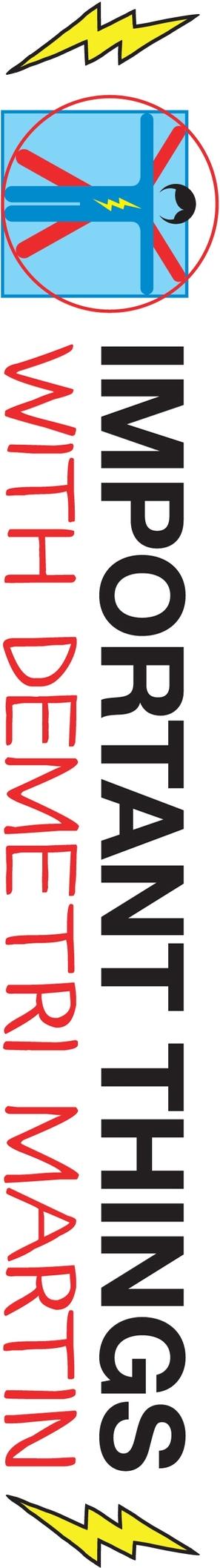 """Important Things with Demetri Martin"" - Logo (thumbnail)"