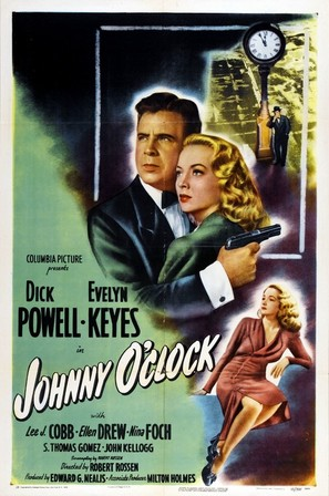 Johnny O'Clock - Movie Poster (thumbnail)
