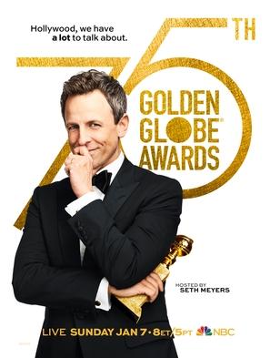The 75th Golden Globe Awards - Movie Poster (thumbnail)