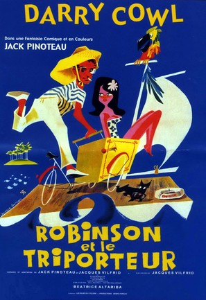 Robinson et le triporteur - French Movie Poster (thumbnail)