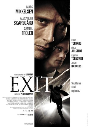 Exit - Swedish Movie Poster (thumbnail)