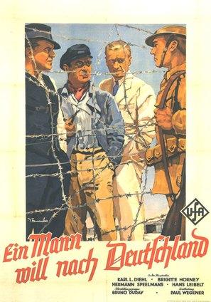 Mann will nach Deutschland, Ein