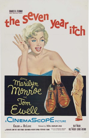 The Seven Year Itch - Movie Poster (thumbnail)
