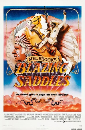 Blazing Saddles - Movie Poster (thumbnail)