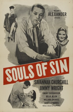 Souls of Sin - Theatrical poster (thumbnail)