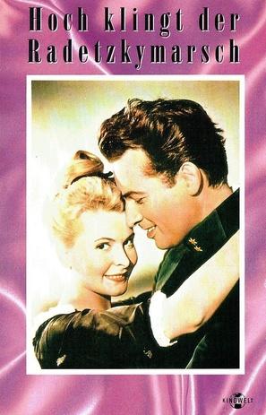 Hoch klingt der Radetzkymarsch - German VHS movie cover (thumbnail)