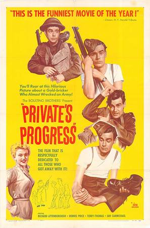 Private's Progress - Movie Poster (thumbnail)