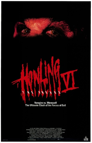 Howling VI: The Freaks - Video release movie poster (thumbnail)