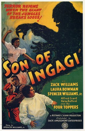 Son of Ingagi - Theatrical poster (thumbnail)