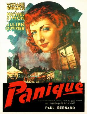 Panique - French Movie Poster (thumbnail)