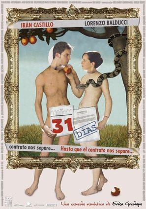 31 días - Mexican Movie Poster (thumbnail)