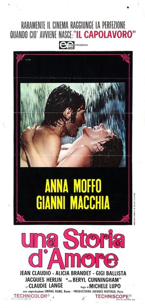Una storia d'amore - Italian Movie Poster (thumbnail)