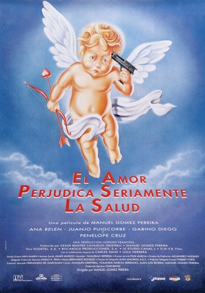 Amor perjudica seriamente la salud, El - Spanish Movie Poster (thumbnail)