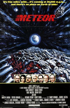 Meteor - Movie Poster (thumbnail)