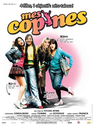 Mes copines - French poster (thumbnail)