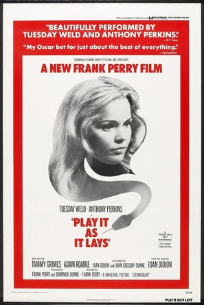 Play It As It Lays - Movie Poster (thumbnail)