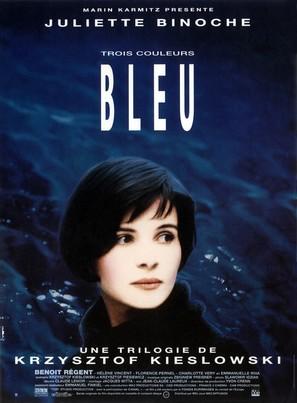 Trois couleurs: Bleu - French Movie Poster (thumbnail)