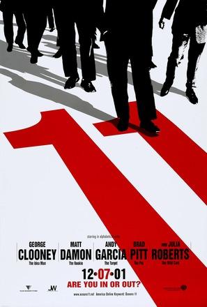 Ocean's Eleven - Teaser movie poster (thumbnail)